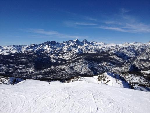 Finally skiing again!