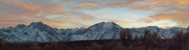 Joe took this gorgeous shot one evening in Mammoth Lakes. Ah!